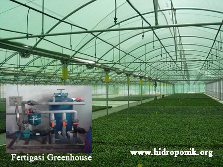 fertigasi greenhouse